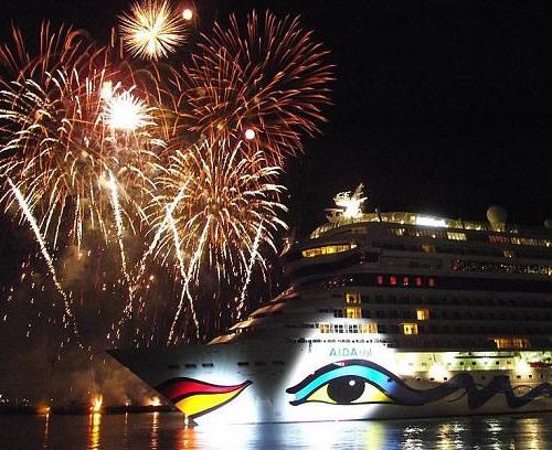 Cruceros de lujo-Aida