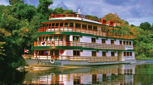 crucero por el Amazonas